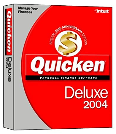 Quicken 2004 Deluxe [Old Version]