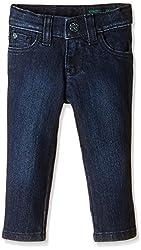 UCB Kids Baby Boys Jeans (16P4DENC0106I901_Dark Blue_0Y)