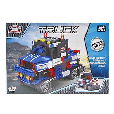 3D Diy Puzzle Truck Building Blocks Bricks Toy Sets (464Pcs) front-736113