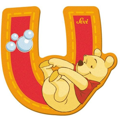 Sevi 82779 Klebebuchstabe U Winnie the Pooh