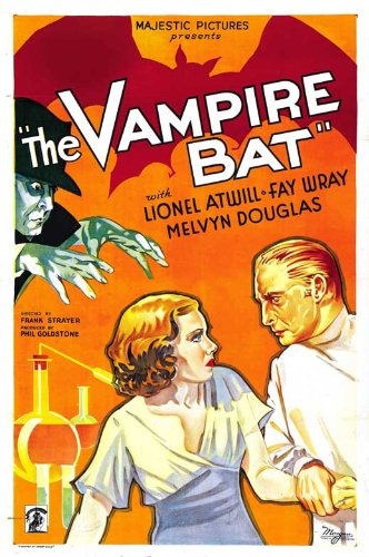 The Vampire Bat Movie Poster