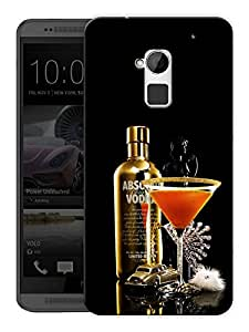 "Humor Gang Vodka And Martini Printed Designer Mobile Back Cover For ""HTC ONE MAX"" (3D, Matte, Premium Quality Snap On Case)"