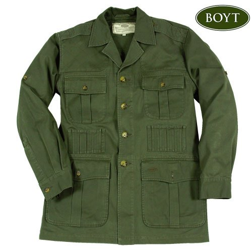 Boyt Harness Safari Jacket, Green, Extra Large 50320
