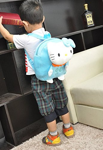 Gaorui Leather Schoolbag Animal Cartoon Backpack for Children Toddler-14 Patterns