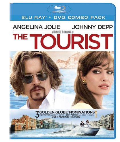 Combo Packs Store Online: The Tourist (Two-Disc Blu-ray