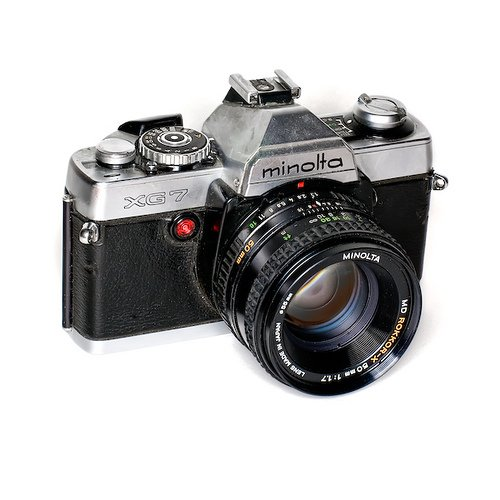 Minolta Camera Price Minolta Xg-7 35mm Camera