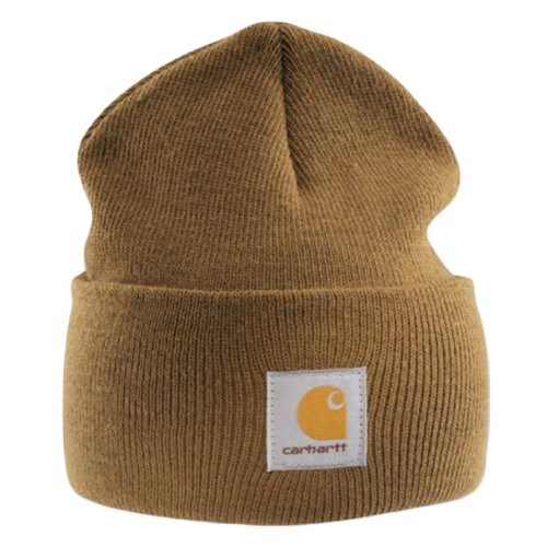 Carhartt - Acrylic Watch Cap - Light brown Branded Beanie Ski hat Reviews