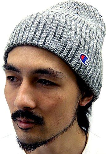 (チャンピオン) Champion ニット帽 メンズ 帽子 ワッチ 2color Free ミディアムグレー