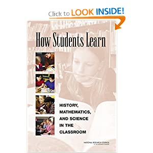 How Students Learn - Committee on How People Learn