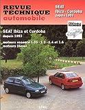 echange, troc Collectif - Revue technique automobile N°567 Seat Ibiza et Cordoba, moteurs essence 1.05, 1.3, 1.4 et 1.6, moteurs diesel et turbo diesel