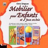 echange, troc Chris Simpson - Mobilier pour enfants et jeux en bois
