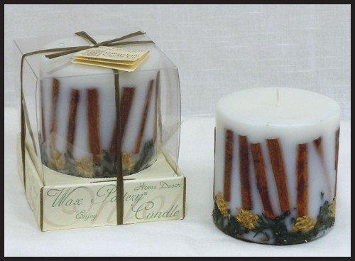 Cinnamon Bark Luminary Candle