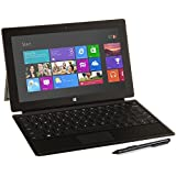 Microsoft Surface Pro 1 Tablet 128 GB Dual-Core i5 Type Cover Bundle, Black (Certified Refurbished)