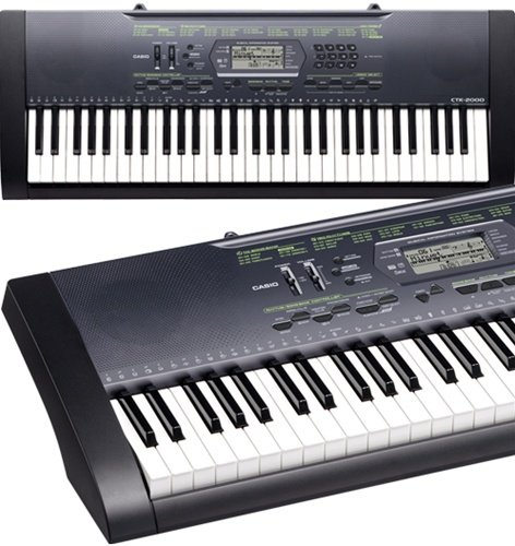 casio 61 key full size keyboard keyboards. Black Bedroom Furniture Sets. Home Design Ideas