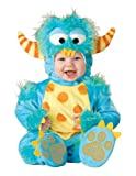 InCharacter Unisex-baby Infant Monster Costume, Blue Yellow Orange, Medium (12-18m)