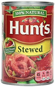 Hunt's Stewed Tomatoes, 14.5 Ounce (Pack of 12)