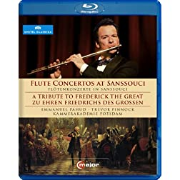 Flute Concertos at Sanssouci - A Tribute to Frederick The Great [Blu-ray]