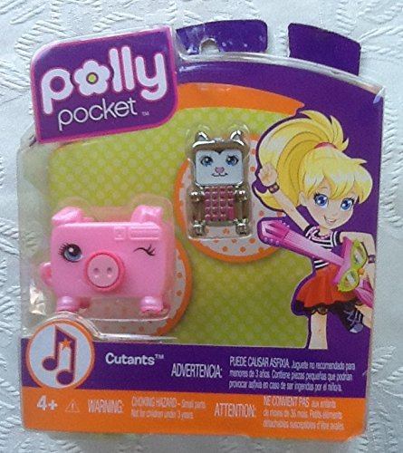 Polly Pocket Cutant *jellyfish Bottle and Turtletube Figures - 1