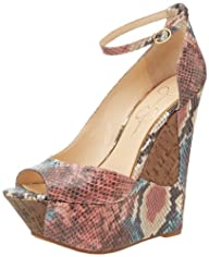 Jessica Simpson Women's Maggey Wedge Sandal