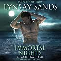 Immortal Nights: An Argeneau Novel Audiobook by Lynsay Sands Narrated by Lisa Larsen