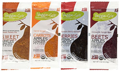 Healthy fruit and veggie snacks: Veggie-Go's Ultimate Variety Pack