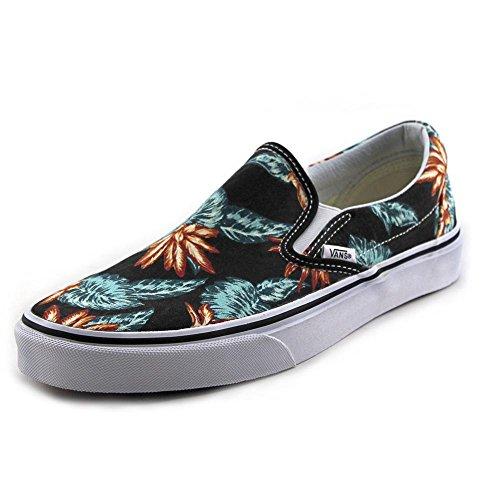 1c91278901 Vans Classic Slip-On unisex shoes Vintage Aloha Black True - Import It All