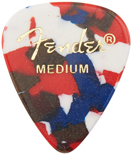 Fender 351 Shape Classic Picks (144 Pack) for electric guitar, acoustic guitar, mandolin, and bass (Fender Accesories Guitar compare prices)