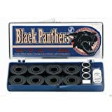 Black Panthers ABEC 5 Speed Smooth Skateboard Bearings by Black Panther