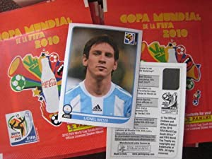 Panini Fifa World Cup South Africa 2010 Coca-cola Stickers Set