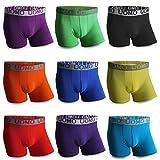 5x 10x 20x Boxershorts UOMO Baumwolle Sport Boxer Unterhosen Shorts