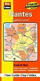 echange, troc Plans Blay Foldex - Plan de ville : Nantes (avec un index)