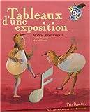 echange, troc Modest Petrovitch Moussorgski, Sacha Poliakova, Muriel Bloch - Tableaux d'une exposition (1CD audio)