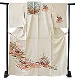 博多着物市場 きものしらゆり 単衣 フォーマル 紋意匠 附下げ 訪問着 正絹 仕立て上がり