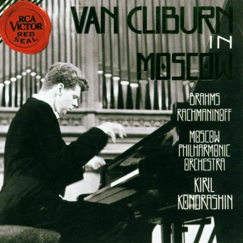 Van Cliburn in Moscow - Brahms: Piano Concerto No. 2 / Rachmaninoff: Paganini Rhapsody