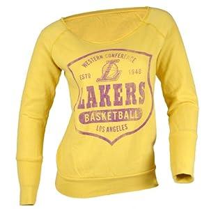 Los Angeles Lakers NBA Ladies Arch Hamlin Sweatshirt M by Sportiqe