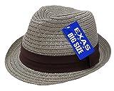 エクサスEXAS 大きい帽子最大65cmブレードペーパー無地中折れハット