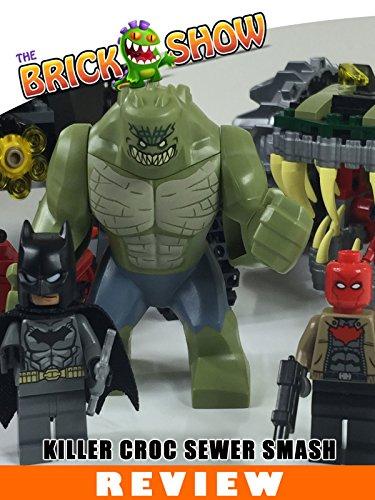 LEGO DC Comics Batman : Killer Croc Sewer Smash Review (76055)