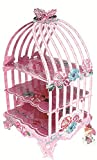 RELIABLE PACKAGING CUPCAKE STAND - BIRD CAGE- PINK