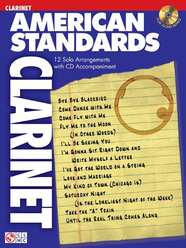American Standards Clarinet (American Standards/Play Along Series)