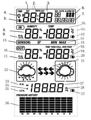 blackshark wireless indoor  u0026 outdoor digital weather station clock