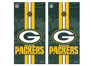 NFL Green Bay Packers Cornhole Shield by Wild Sports