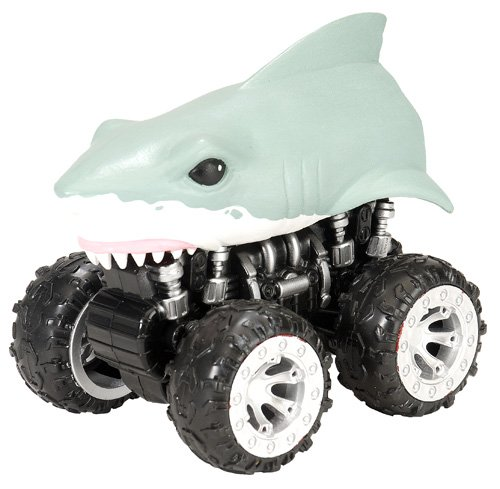 Wild Republic Motor Headz Shark Vehicle
