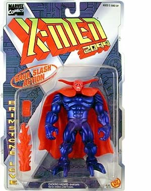 BRIMSTONE LOVE with Back Slash Action X-MEN 2099 Marvel Comics Action Figure