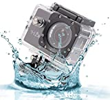 Logicom-Mini-Waterproof-1080p-HD-Action-Camera-2-Inch-LCD-Screen-with-Mounts