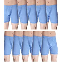 Alfa Stylo Cotton Long Trunk/Drawer H-Back IE [90cm] - Pack of 10 (Assorted Color)