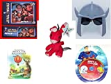 "Children's Gift Bundle - Ages 6-12 [5 Piece] - Star Wars 100 Piece Jigsaw Puzzle Padme Amidala - November 2015 Loot Crate TMNT Shredder Shades Toy - Neopets Red Blumaroo Plush Toy 4"" - My First Atla"