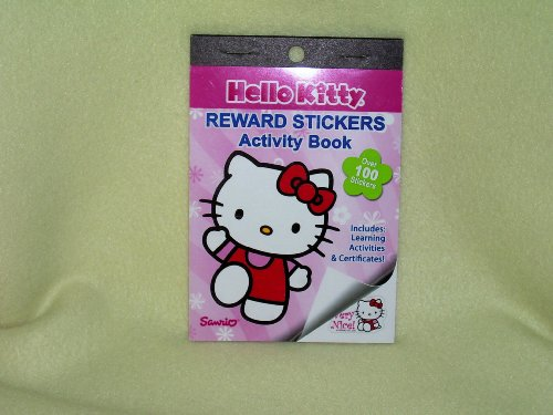 Hello Kitty Reward Stickers Activity Book