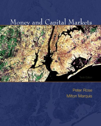 Money and Capital Markets with S&P Bind-in Card...