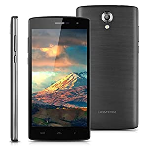 Homtom HT7 Pro 4G Lte - Smartphone Libre Android 5.1 (5.5'' HD, Dual Sim, Quad Core, 16Gb, 2Gb Ram, Hotknot Smart Wake Air Gestures, 8Mp), Gris