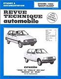 echange, troc Etai, Revue Technique Automobile - Revue Technique Automobile, CIP 3865 : Citroën Visa et Visa II - Spécial et Club
